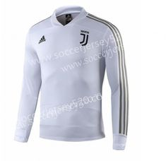 d1c7aaee9f7 2018-2019 Juventus White Thailand Soccer Tracksuit-GDP