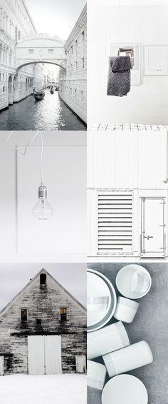 All whites - via Coco Lapine Design