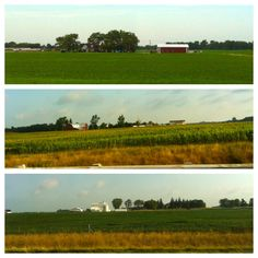 Pics from the road - Left Toledo, OH this morning and heading west on the I-80 to Chicago...all farmlands along the top of Ohio.