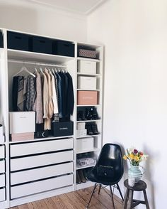 "Marie von Behrens på Instagram: ""Just a tiny corner of my new closet..✨"""