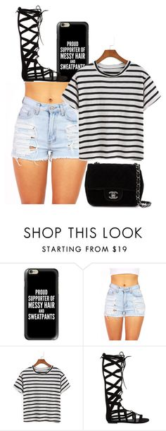 """""""PROUD SUPPORTER"""" by dancer4life-325 ❤ liked on Polyvore featuring Casetify, Steve Madden and Chanel"""
