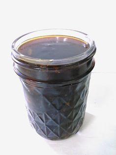 Never Buy Teriyaki Sauce In A Bottle Again! With Corn Starch, Water, Sugar, Soy Sauce, Apple Cider Vinegar, Ground Ginger, Garlic Cloves, Black Pepper