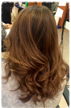 Winter balayage