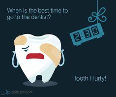 Oh, dentist puns. #DentalHumor #SocialMedia www.rosemontmedia.com