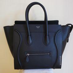 5015d5be98f Black Celine Mini Luggage. Luxurysnob
