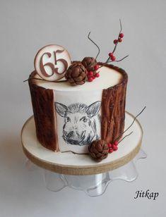 Hunter cake - cake by Jitkap Funny Cake, Cupcakes, Cakes For Men, Halloween Cakes, Cake Designs, Amazing Cakes, Baked Goods, Fondant, Cake Decorating