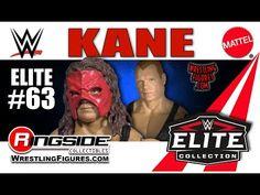WWE FIGURE INSIDER: Kane - Mattel WWE Elite 63 - YouTube Kane Wwe, Wwe Elite, Comic Books, Comics, Youtube, Cartoons, Cartoons, Comic, Comic Book
