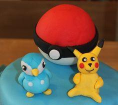 pokemon - pikachu pâte a sucre