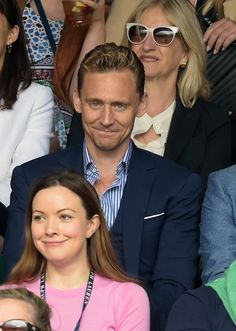 Tom Hiddleston at Wimbledon on July 8 2015 in London England. Via Torrilla (https://m.weibo.cn/status/4127340747819451#&gid=1&pid=9 ) Larger: