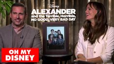 Would #JenniferGarner and #SteveCarell rather wrestle a kangaroo or catch on fire? Find out in this behind-the-scenes interview with the cast of #Disney's Alexander and the Terrible, Horrible, No Good, #VeryBadDay!