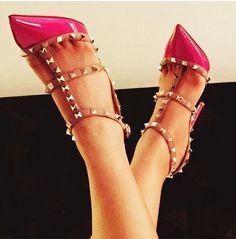 Valentino rockstud pumps stilettos