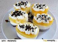 Semifreda - minidortíky - recept fotopostup - TopRecepty.cz Mini Cakes, Red Velvet, Sushi, Cheesecake, Pudding, Cupcakes, Ethnic Recipes, Desserts, Food