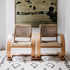 Total vintage chair crush right here. . . Via @apdesignhouse