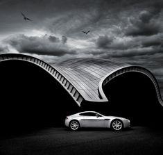 UK-based automotive photographer Tim Wallace.