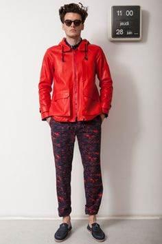 Band of Outsiders Spring 2013 Menswear Collection on Style.com: Complete Collection