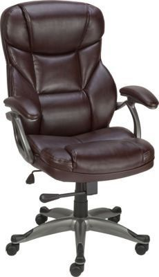 new office chair staples for staples osgood bonded leather managers high back chair brown