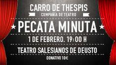 Obra de teatro en #Bilbao para la recaudación de fondos del Síndrome de Sanfilippo #StopSanfilippo