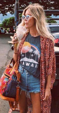 Bohemian Style Inspiration To Try ASAP - ╰☆╮Boho chic bohemian boho style. - Bohemian Style Inspiration To Try ASAP – ╰☆╮Boho chic bohemian boho style hippy hippie chic bohème vibe gypsy fashion indie folk the . ╰☆╮ Source by - Moda Boho, Boho Outfits, Cute Outfits, 30 Outfits, Hippie Chic Outfits, Boho Chic Outfits Summer, Casual Summer, Fall Outfits, Summer Chic