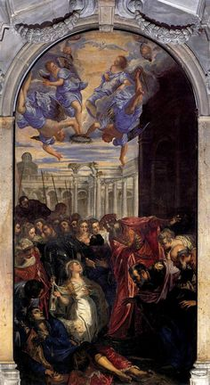 Tintoretto - The Miracle of St Agnes