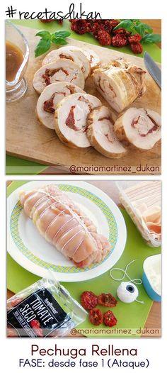 Dieta Dukan, ejemplo de Menú
