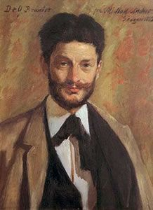 Georg Brandes (4 februari 1842 – 19 februari 1927) - Portret door Michael Ancher, 1883