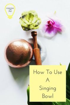 How to Use a Singing Bowl In Your Meditation Practice - Step by Step Guide on how to use a Singing Bowl. Read now to learn how. Relaxation Meditation, Meditation Space, Chakra Meditation, Mindfulness Meditation, Singing Bowl Meditation, Meditation Corner, Tibetan Bowls, Meditation For Beginners, Meditation Techniques