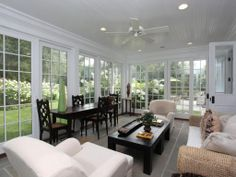 Slate, Crown molding, Modern, Traditional, French Style. I would sit out here all day and read a book.