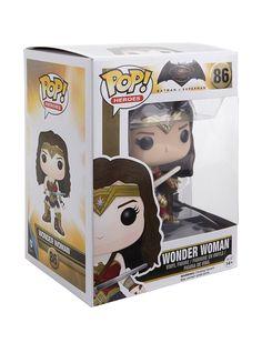 "<p>Wonder Woman is given a fun, and funky, stylized look as an adorable collectible vinyl figure!</p>  <ul> <li>3 3/4"" tall</li> <li>Vinyl</li> <li>Imported</li> <li>By Funko</li> </ul>"