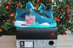 AIR JORDAN 4 RETRO Verde Lake Verde 452386-233
