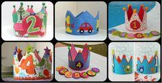Colección de ideas para Coronas de cumpleaños plantillas y moldes incluidos
