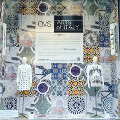 "OVS DEPARTMENT STORE, Milan, Italy, ""OVS Arts of Italy Capsule Collection"", pinned by ton van der Veer"