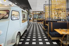 LEMAYMICHAUD Architecture Design et Branding   Interior design   France   Parisien   Quebec   Restaurant Restaurant Design, Architecture Design, Alcohol Bar, Street View, Branding, France, Commercial, Drink, Homes