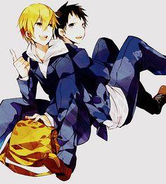 Best friends~ ~DRRR Masaomi Kida & Mikado Ryugamine~