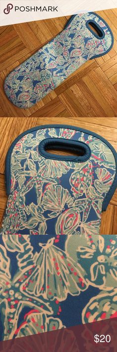 Lilly Wine Tote Neoprene Lilly Wine Tote Lilly Pulitzer Accessories