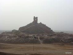 Borsippa: antiguo zigurat.