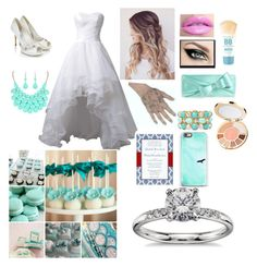 """""""My Future Wedding """" by kasy-neckles on Polyvore featuring Monsoon, Monet, Maybelline, tarte, Kate Spade, Casetify and Blue Nile"""
