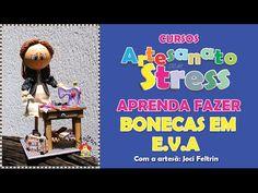 GANHE DINHEIRO - APRENDA FAZER BONECAS DE E.V.A EM FORMATO DE CUPCAKE - YouTube