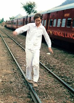 Wes Anderson on the set of The Darjeeling Limited, 2007 Photographed by Laura Wilson
