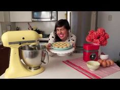French Macaroon Tutorial...she's a little silly, but gives some good tips.