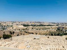 A view of Jerusalem from the Mount of Olives Mount Of Olives, Holy Land, Cool Photos, Interesting Photos, Places Ive Been, Paris Skyline, Grand Canyon, World, Instagram Posts