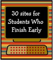 Websites for early finishers