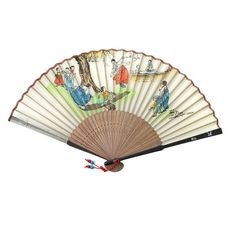 Mother of Pearl Fan - Neolttuigi (Seesaw) Korean New Year, Shop Fans, Seesaw, Silk Screen Printing, Holiday Traditions, Hand Fan, Interior Decorating, Arts And Crafts, Traditional
