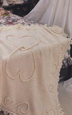 Wedding Crochet Patterns Keepsakes - Afghan