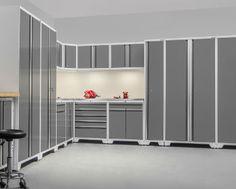 newage pro 3.0 white 16 piece garage cabinet set 52559