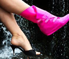 Ame Design - amenidades do Design . blog - Capa de sapato para dias de chuva!