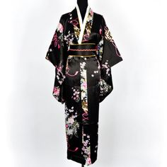 Japanisch Kimono Robe Yukata Schlafanzug Schwarz Shanghai tone http://www.amazon.de/dp/B0055QINHQ/ref=cm_sw_r_pi_dp_Pwdfvb1YWT6MA