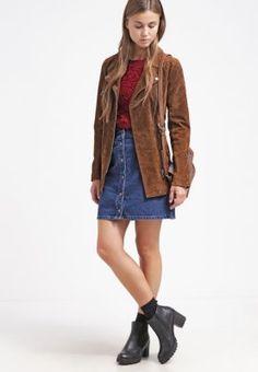50710b4c1408 Denim skirt - dark wash - Zalando.co.uk