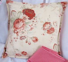 Handmade Decorated Hand Towels and other Sweet Goodies just for You! Throw Pillow Cases, Pillow Shams, Throw Pillows, Coral Pillows, Waverly Fabric, Floral Throws, Halloween Pillows, Ebay Shopping, Tapestry Fabric
