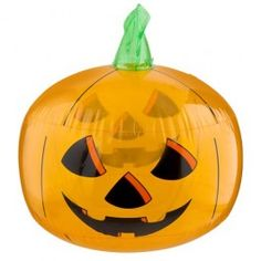 For some fun Halloween party decorations, a large inflatable pumpkin will bring the place to life!
