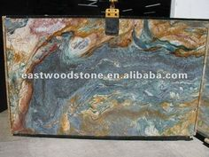blue luisa granite slab